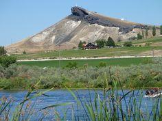 Llizard Butte in Marsing Idaho