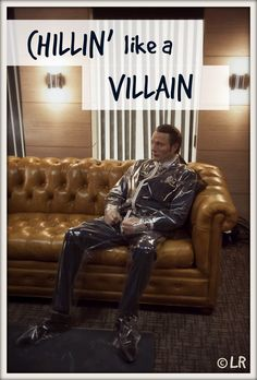 Chillin' like a Villain. Hannibal takes a break from murder. This made me laugh way too much