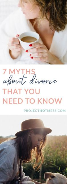 In a perfect world, divorce wouldn't happen. But women who are going through it deserve to have support and understanding. Here are 7 myths about divorce that you need to know! First Year Of Marriage, Marriage Help, Marriage Relationship, Happy Marriage, Marriage Advice, Love And Marriage, Relationships Are Hard, How To Improve Relationship, Healthy Relationships