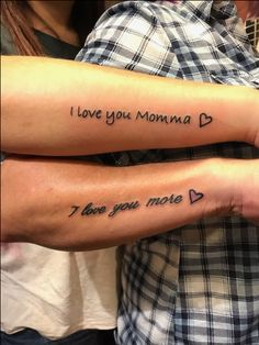 the cutest mother daughter tattoos - mom daughter tattoos -