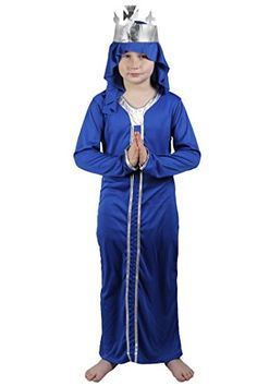 nice       £6.99  CHILDS WISE MAN NATIVITY FANCY DRESS COSTUME. IN 3 COLOURS - BLUE, RED & PURPLE.     IN 2 SIZES:  MEDIUM 5-7 YEARS (122-134CM)L...  Check more at http://fisheyepix.co.uk/shop/childs-blue-wise-man-nativity-fancy-dress-costume-casper-3-kings-christmas-5-7-years/