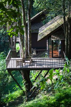 : Hang Dong District, Chiang Mai, Thailand  | Hill Lodge / SOOK Architects