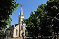 St. Matthew's United Church, Halifax, Nova Scotia. Founded in 1749, it's the oldest United Church in Canada