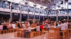 Mercado da Ribeira - Lisbon's iconic market is reborn with a food court featuring gourmet and chic meals for all tastes and budgets.  - http://www.welovelisbon.net/food-and-drink/mercado-da-ribeira