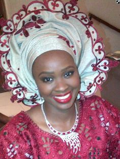 Nigerian Gele | Lovely Nigerian Traditional Brides In Gele