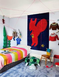 the boo and the boy  eclectic kids  rooms Habitaciones Infantiles 9236ecf4b9c