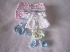 OOAK Sweet Baby Newborn themed - 6-7 inch dolls