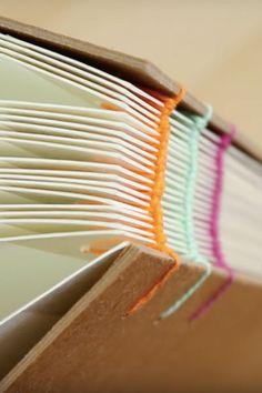 Thread Book Binding Tutorial by @sealemon | Paper Crafts