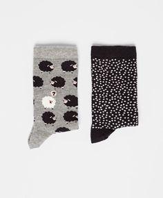 Pack of sheep socks - OYSHO