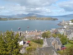 Oban and Kerrera