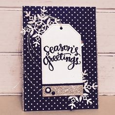 Lovely card by Amanda Brown using Simon Says Stamp Exclusives.