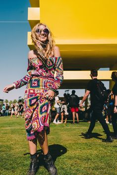 Carnaby Crochet Set Festival Style - Coachella 2016 | Spell Blog