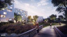 Sandvedparken, Norway | Residential 3D Visualization by Brick Visual