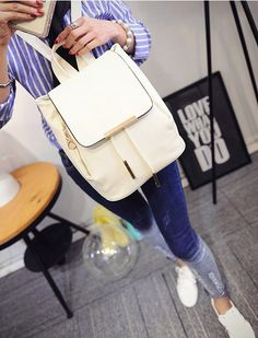 BA01063 Backpack Korean style fashion