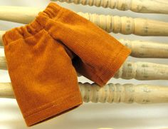 Caramel Corduroy pants for 10 or 11 inch by sistersdollclothes, $7.00