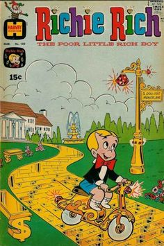 Richie Rich 103 really a comic book...and only 15 cents ...like when I was a kid!