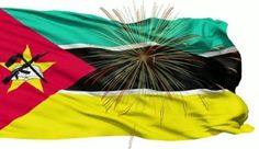 Flying Mozambique Flag on Independence Day 2014 Photos Pics
