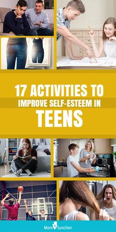 Disturbing family life, parenting style are some of the reasons for low self esteem in teens. MomJunction tells you why it happens and how to improve self esteem. Teen Kids, Teen Mom, Parenting Teenagers, Parenting Hacks, Self Esteem Activities, Spanish Lessons For Kids, Educational Psychology, Activities For Teens, Teen Quotes