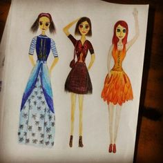 My first try on fashion design.