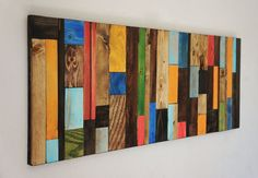 Esta pieza se hace a pedido. Tiempo de entrega para envío es de 2 a 3 semanas. La foto que se muestra está previamente vendido hermoso pedazo de arte hecho con reciclado de madera. Esta hermosa pieza de arte rústico está realizado con madera reciclada. Hemos acabado de cada pieza Scrap Wood Art, Reclaimed Wood Wall Art, Wooden Art, Wood Wood, Diy Wood, Art Rustique, Diy Tableau, Wood Wall Art Decor, Family Room Walls