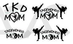 Taekwondo Mom Decal- personalized