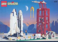 Lego Shuttle Launch Command [6339]