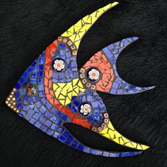 Blue, Red and Yellow Fish