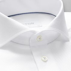 Welcome to Eton - since 1928 the innovator of fine shirting. We are proud to carry our legacy forward by presenting you the number one online destination for premium shirts and accessories. Mens Designer Shirts, Designer Suits For Men, Designer Clothes For Men, Gents Shirt Design, White Shirt Men, Classic White Shirt, Tailor Made Shirts, Gents Shirts, Nigerian Men Fashion