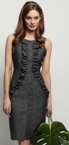 Eva Franco - Tupelo Dress in Grey Anatomy - Resort 2012 Collection