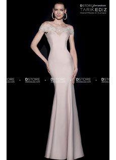 Vestido de Festa Longo em Crepe e Renda Off Shoulder KARON 92499