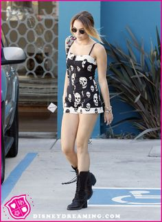 Miley Cyrus Visits The Recording Studio On September 14, 2012