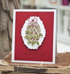 May Your Merry Be Very Card by Ashley Cannon Newell for Papertrey Ink (October 2014)