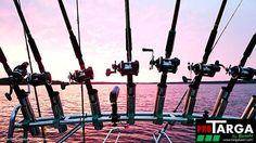 Fishing frame, Bonete PRO 175 for open boat / Nordic style