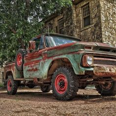 """this-old-stomping-ground: """"Dream truck #c10 #napco #chevytrucks #rustlord_carz #trb_autozone #hdr_transports_mbr #best_hdr_transports #ptk_transports #tv_transport #total_vehicles #autos_of_our_world #hotshotz_wheels #patina_perfection #flaming_rust..."""