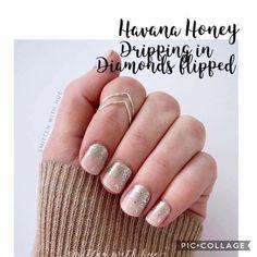 Nail Color Combos, Toe Nail Color, Color Street Nails, Nail Colors, Fancy Nails, Pink Nails, Cute Nails, Pretty Nails, Red Nail