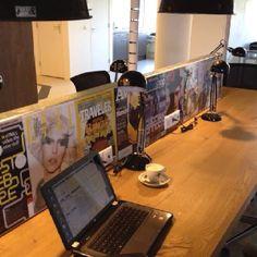 Fc print op divider in de Telefooncentrale #alkmaar
