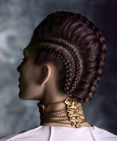 French braid mohawk selena gomez