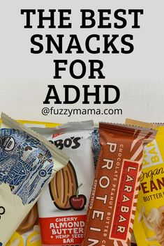 Wondering what to feed your kids that will help to quell the symptoms of ADHD? These Best Snacks for ADHD are packed with protein and low in sugar and best of all, they taste Yummy! These portable healthy snacks are great for on the go and packed in lunches.