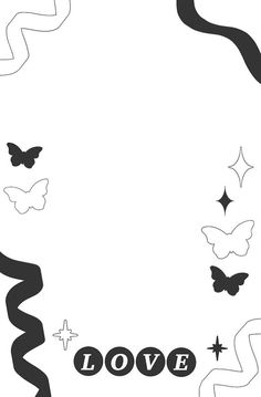 Cute Doodle Art, Cute Doodles, Cute Backgrounds, Cute Wallpapers, Polaroid Template, Room Deco, Overlays Cute, Graphic Design Lessons, Photo Collage Template