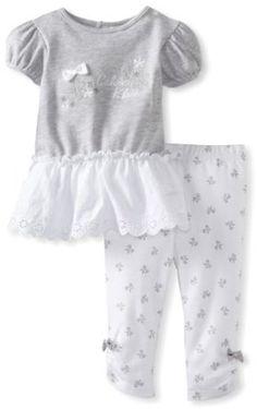 Pusat Jual Baju Bayi Grosir - Calvin Klein Bayi-Bayi Perempuan tunik dengan Legging | Pusat Baju Bayi Terbesar dan Terlengkap Se indonesia
