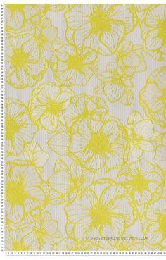 1000 ideas about papier peint fleuri on pinterest for Tapisserie murale de luxe