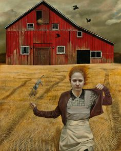 Andrea Kowch / Paintings