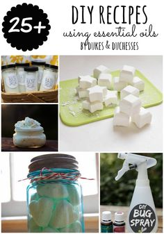 25+ DIY recipes usin