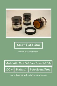 Lisa's Natural Herbal Creations of Ogden, Utah offers a large selection of handmade and natural herbal soaps, lotions, shaving soaps and more for women and men. Mean Cat, Shaving Soap, Sore Muscles, Pure Essential Oils, Pet Care, The Balm, Lotion, Herbalism, Lisa