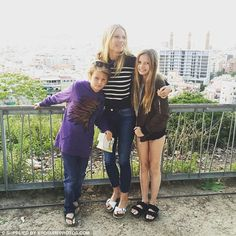 Mom: Of raising her children Apple, 12, and Moses, 10, with ex-husband Chris Martin, she s...
