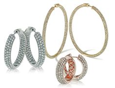 Daniela Swaebe Fashion Jewels - hoop earrings are a timeless style and a staple accessory.