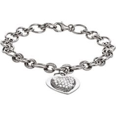 Available @ TrendTrunk.com Heart Bracelet. By Tocara. Only $98!