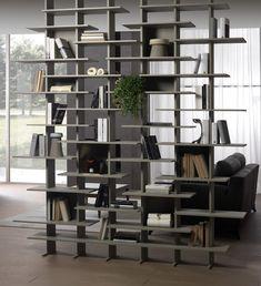 Open modular bookcase ELISABETH - Pacini & Cappellini