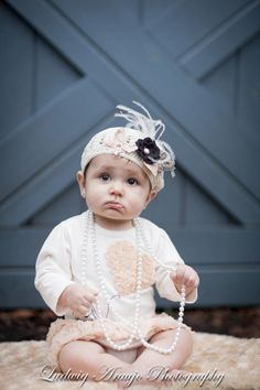 Vintage Tea Hat from The Couture Baby
