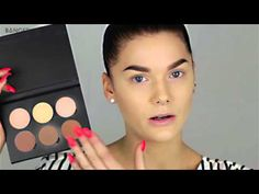 Контурирование // Contouring tutorial RUS Linda Hallberg Makeup Tutorials - YouTube